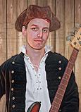 Das Bandmitglied Manuel