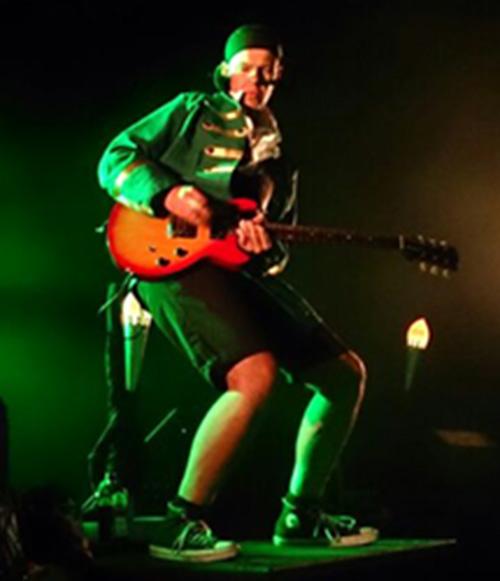Das Bandmitglied Stephan